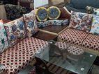 corner sofa with 2 mora
