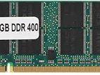 DDR1 RAM 512MB (2x256MB) 400MHz