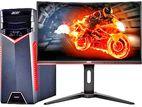"""নতুন গেমিং Core i3_6TH ZEN ™2-TB⚡8GB গ্রাফিক্স PC!_DELL 22"""" LED"""