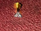 3 Star Small size Diamond Nose-pin 61% Off