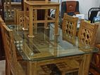 Latest design dining table and 6 chair.code : DT86