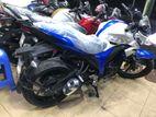 Suzuki Gixxer White Blue 2016