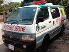 Toyota Hiace ambulance 1996