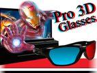 3D GLASS For TV Cineplex Movies