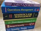 BBA/MBA Books