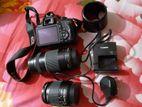 Canon Eos 1300D + 2 lens