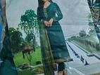 vinay dress green