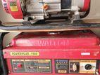 Walton Petrol Generator Power Plus 1500E /1500 sale korbo-05 pcs