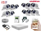 11PC 2MP Hikvision Camera Package