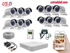 12PC 2MP Hikvision Camera Package
