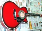 Electrick audio port system acoustic guitar
