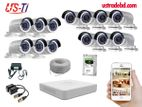 13PC 2MP Hikvision Camera Package