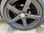 Vossen 18 inch with fresh Dunlop sp sports tyres, Gunmetal color
