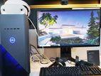 """2000GB 8GB Graphics Core i3 নতুন 22"""" ( Dell ) LED Monitor"""