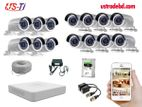 14PC 2MP Hikvision Camera Package