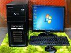 Duel Core Desktop Computer Full Set /SeLL