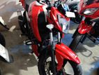 TVS Apache RTR red/white 2019