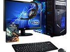 "=> New Core i5 Desktop PC _1000GB __8GB __22"" LED Monitor"