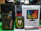 """New Esonic 17"""" LED 4Gb Ram 500Gb HDD (1year warranty)"""