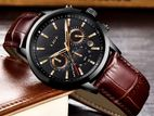 LIGE chronograph active watch for men's