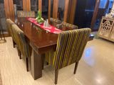 Customed Dining Table And Chairs