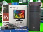 Core i5.500gb hdd 4gb ram-new 17''LED(1year warranty)
