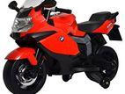 BMW Big Children Motorcycle Rechargeable Baby Bike