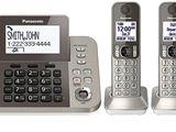 Panasonic TNT 3 Handset Cordless Phone KX-TGF353N / TGF 383