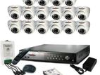 "16 Channel CCTV System with 19"" LED Monitor"