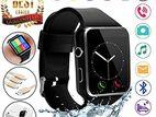 স্মার্ট মোবাইল ঘড়ি-X8 Smart Watch-সিম এবং মেমোরি কার্ড সার্পোটেড।