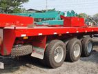 40' Flat Bed Trailer