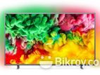 View One 65''Smart Official Youtube 4k Led Tv