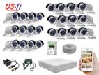 24PC 2MP Hikvision Camera Package