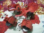 Roller skate red color 4 চাকা