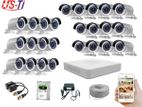 25PC 2MP Hikvision Camera full Package with Monitor