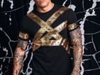 Golden Signature Half Sleeve T-shirt