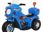 6 volt rechargeable children police motorbike