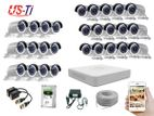 27PC 2MP Hikvision Camera Package