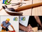 Carpenter, Electrician and Tiles etc. Here (F.C.C. Contractor).