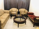Sofas with Divan and Table-set
