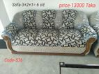 sofa-3+2+1= 6 seat sofa set,sapno bilash furniture