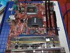 new original MSI motherboard 31 1800 tk (01 year)