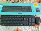 Logitech MK235 Grey Wireless Keyboard & Mouse Combo