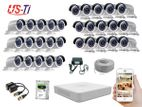 30PC 2MP Hikvision Camera Package