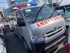 Toyota Hiace AMBULANCE OFFER 2015