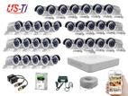 32PC 2MP Hikvision Camera Package