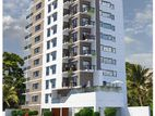 1525 sft South faceing Road Side Apartment @ west dhanmondi