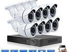 CCTV Camera 8Pc & 08 dvr Total Package