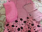 2 set cotton 3 pis reday pallazo dress