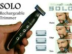 SOLO Rechargeable Trimmer